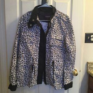Anorak Leopard Print Jacket